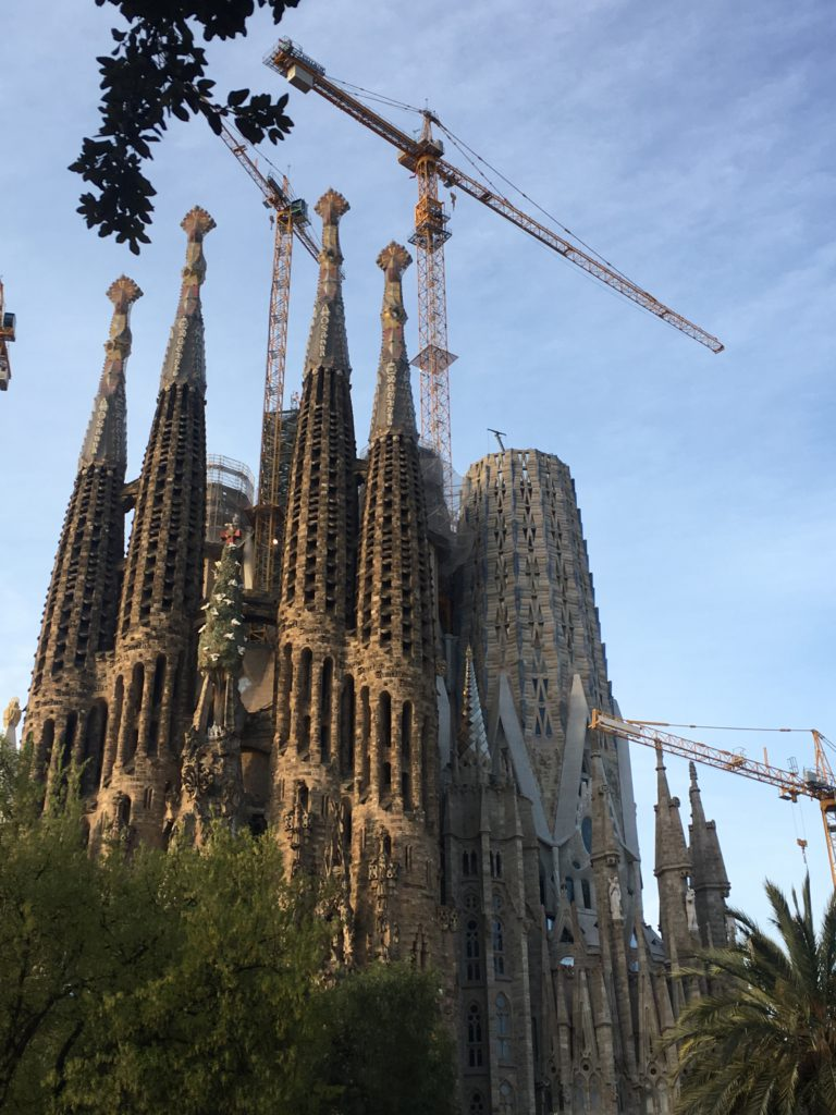 Process of construction of Virgin Mary Tower