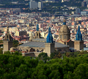 Barcelona Highlights Tour private luxury minivan 4 hours Dreamingbarcelona - Views Montjuic